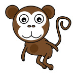 flashcard-animals-monkey