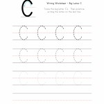 Big Letter C Writing Worksheet
