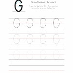 Big Letter G Writing Worksheet