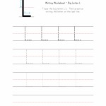 Big Letter L Writing Worksheet