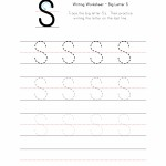 Big Letter S Writing Worksheet