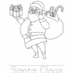 Santa Claus Coloring Worksheet