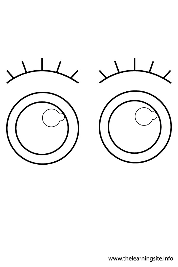 coloring page-body parts-eyes2-01