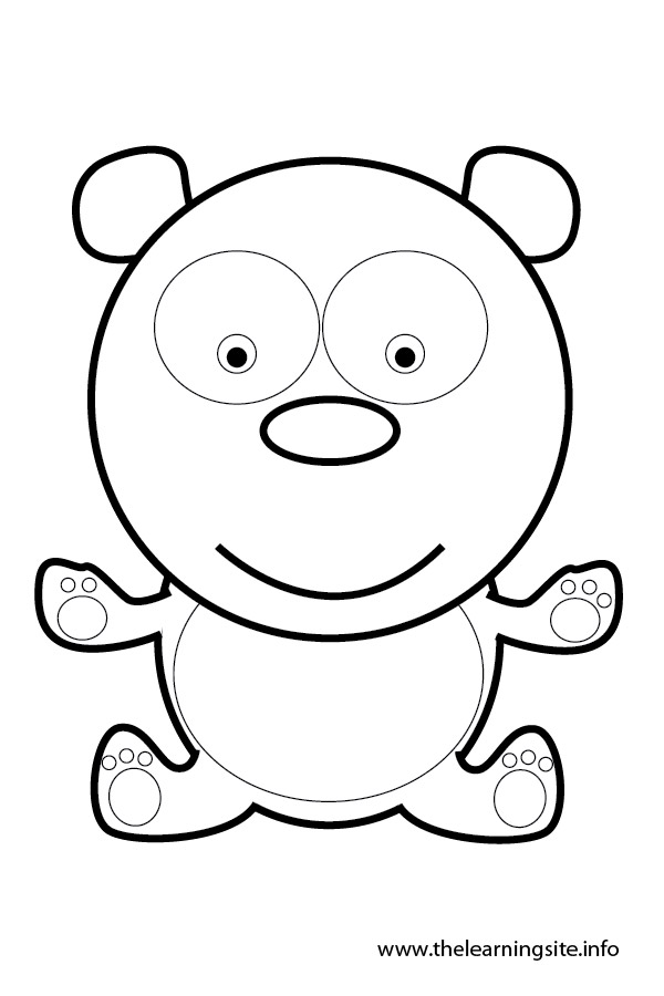 coloring-page-outline-animals-panda
