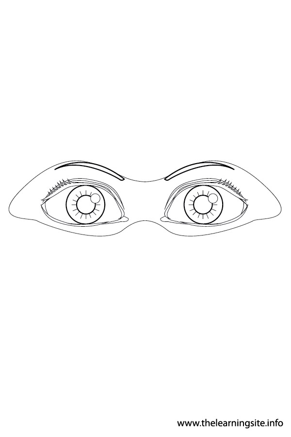 coloring-page-outline-body-parts-eyes1
