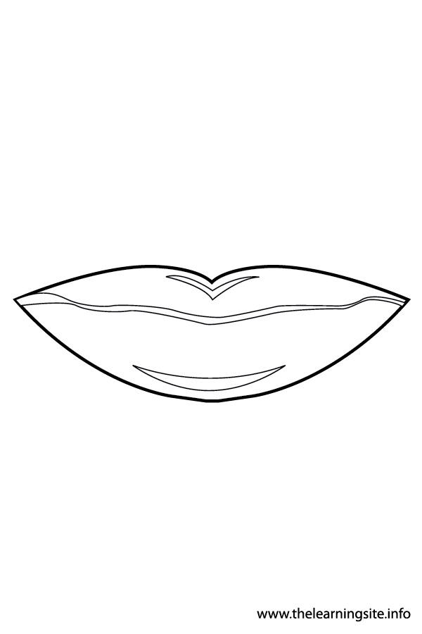 coloring-page-outline-body-parts-mouth1