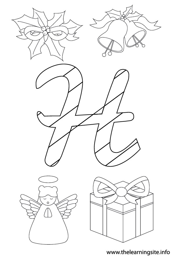 coloring-page-outline-christmas-alphabet-h