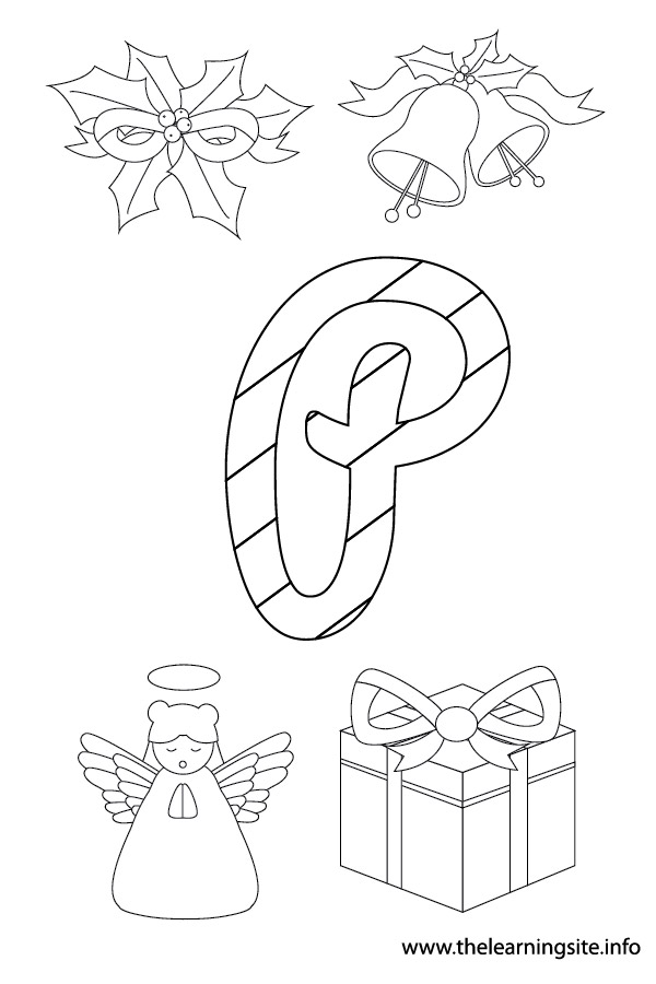 coloring-page-outline-christmas-alphabet-p