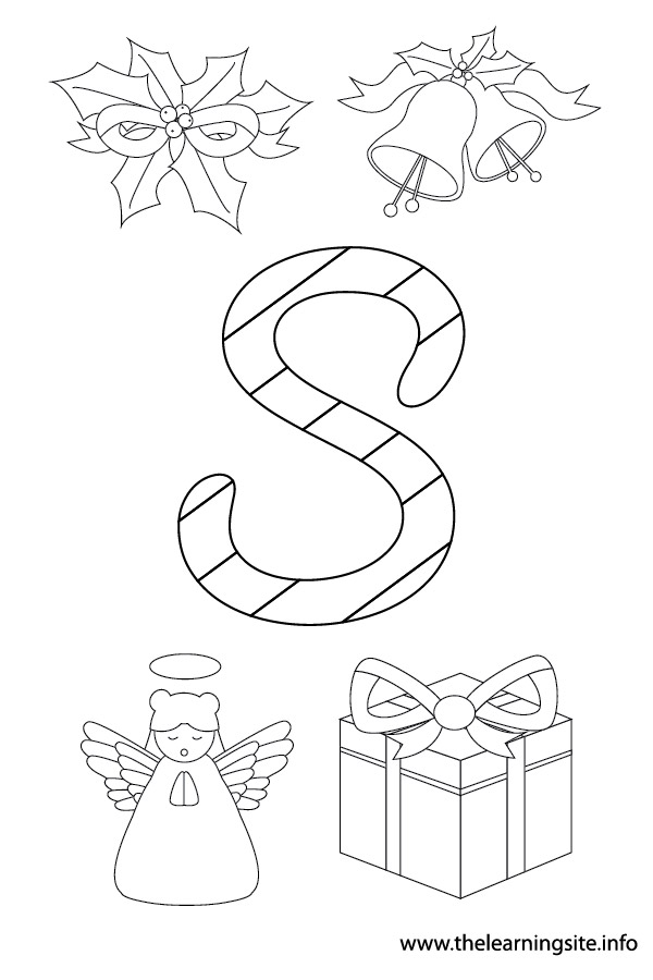 coloring-page-outline-christmas-alphabet-s