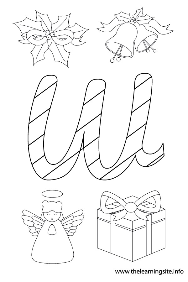 coloring-page-outline-christmas-alphabet-w