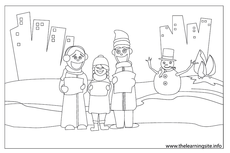 coloring-page-outline-christmas-carolers