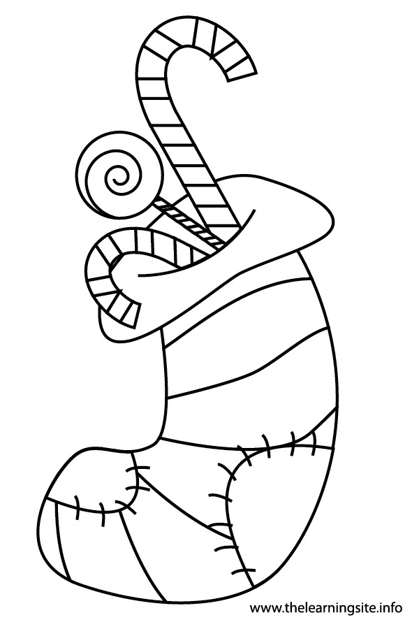 coloring-page-outline-christmas-stockings