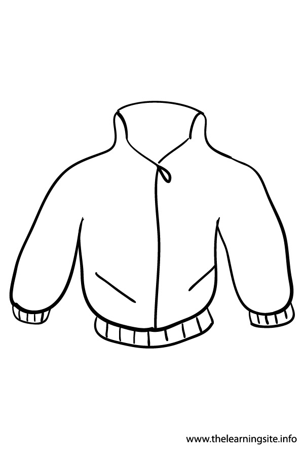 coloring-page-outline-clothes-jacket