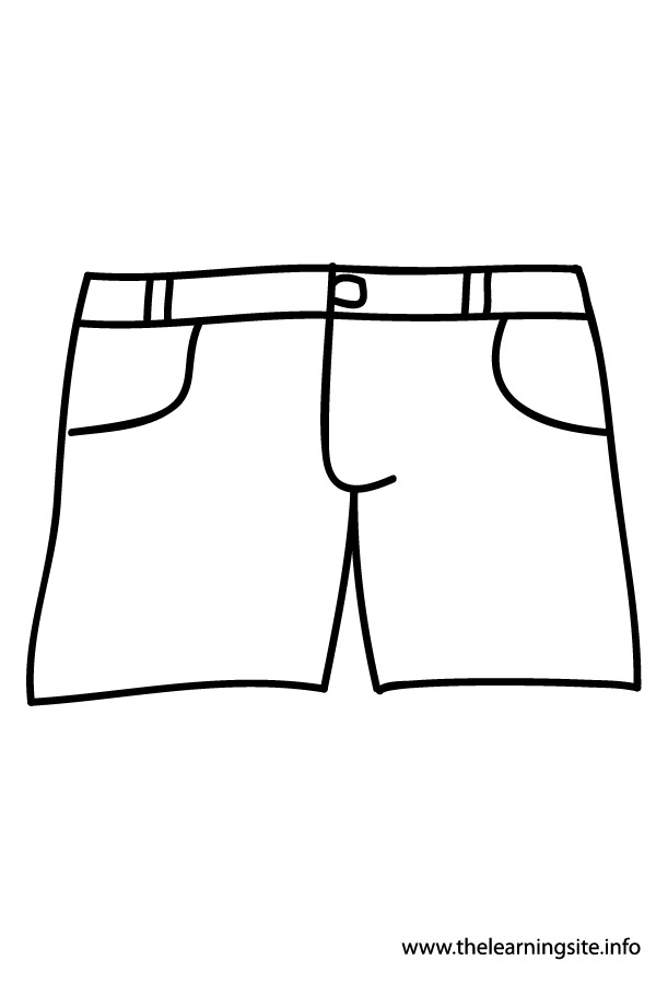coloring-page-outline-clothes-shorts