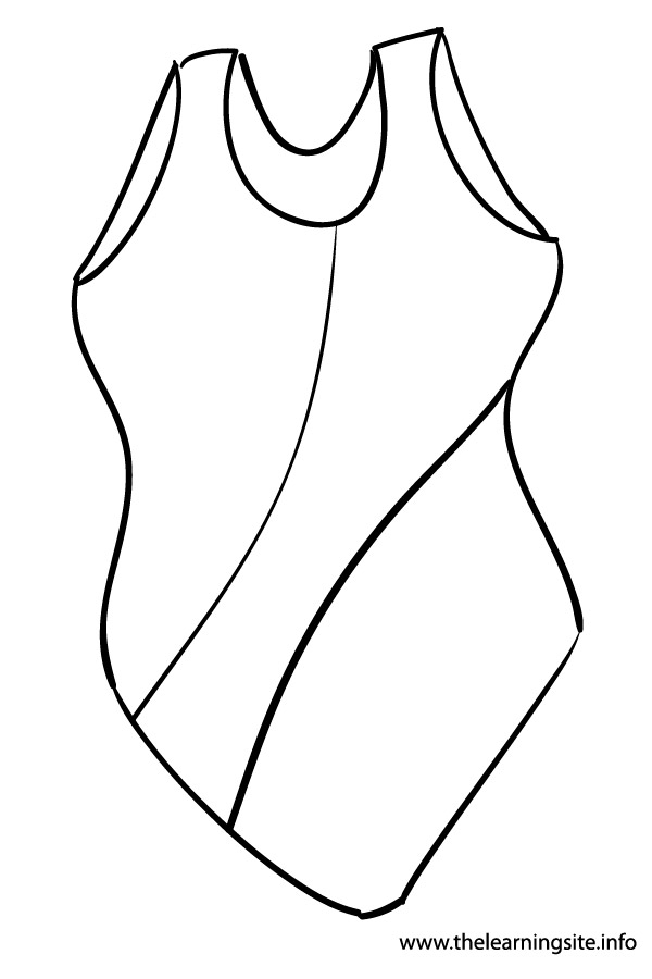 coloring-page-outline-clothes-swimsuit