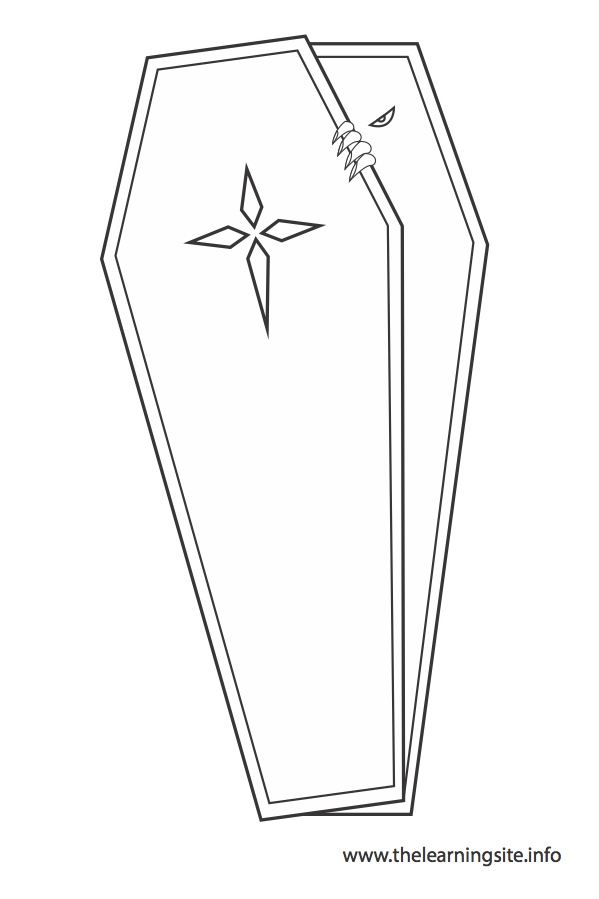 coloring-page-outline-coffin