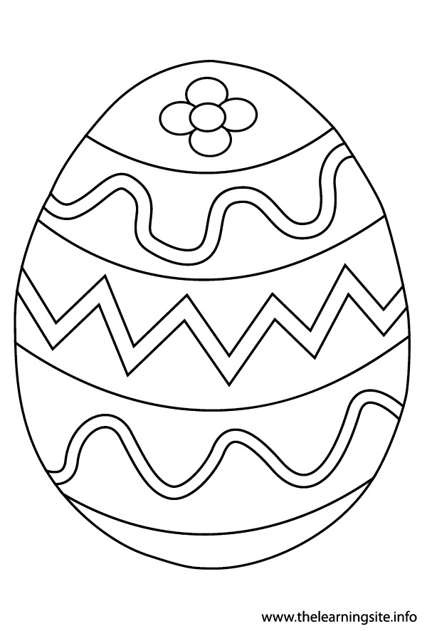 coloring-page-outline- easter-egg-3