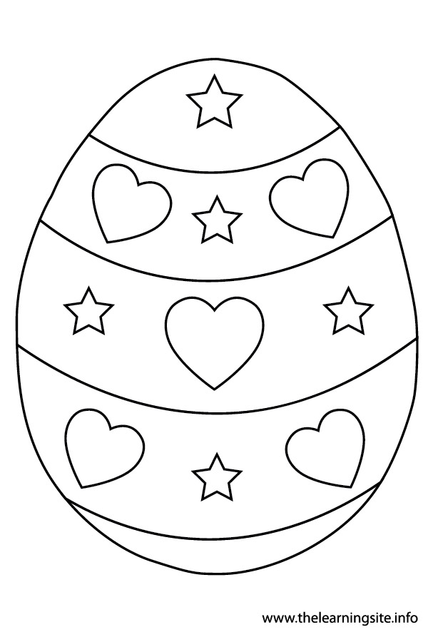 coloring-page-outline- easter-egg-8