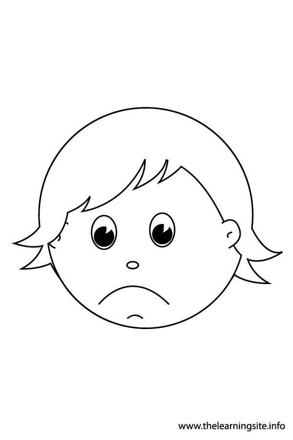 coloring-page-outline-feelings-sad