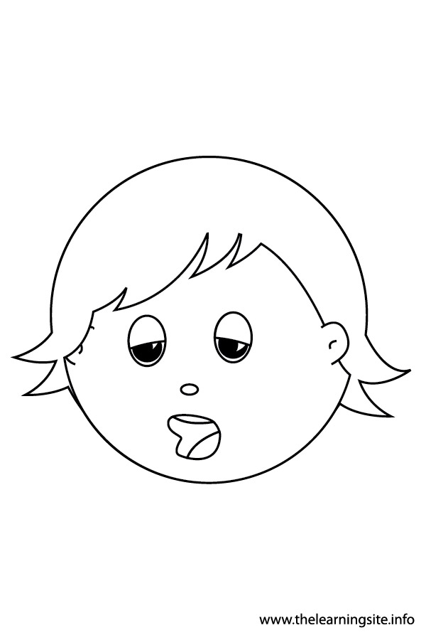 coloring-page-outline-feelings-sleepy