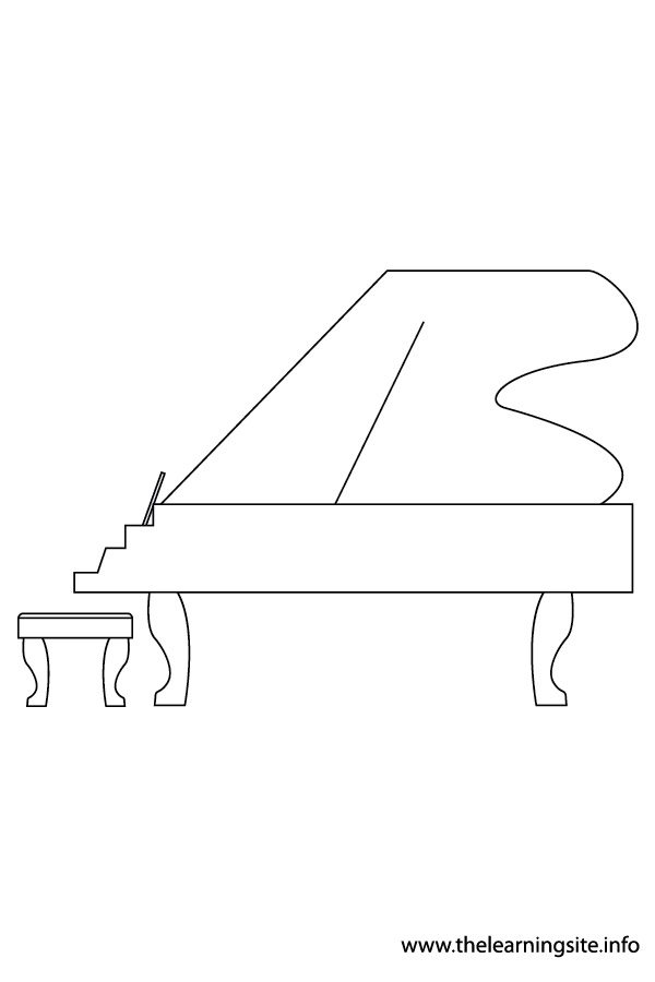 coloring-page-outline-musical-instrument grand-piano