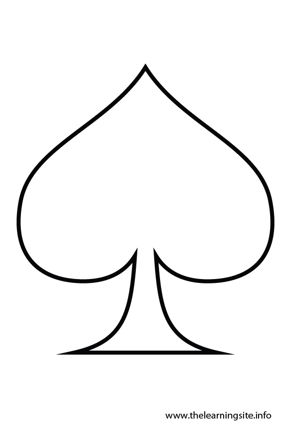coloring-page-outline-shape-brown-spade
