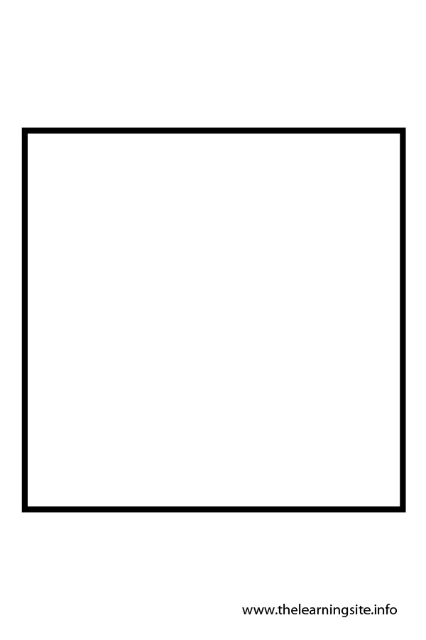coloring-page-outline-shape-square