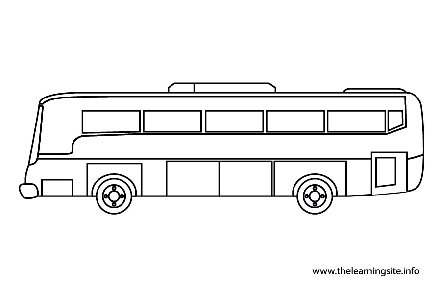 coloring-page-outline-transportation-bus