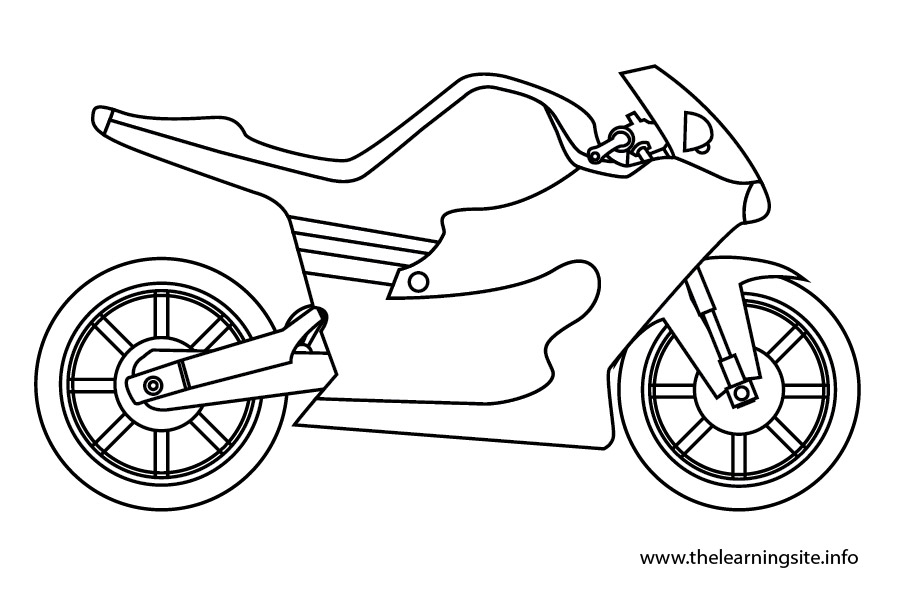 coloring-page-outline-transportation-motorcycle