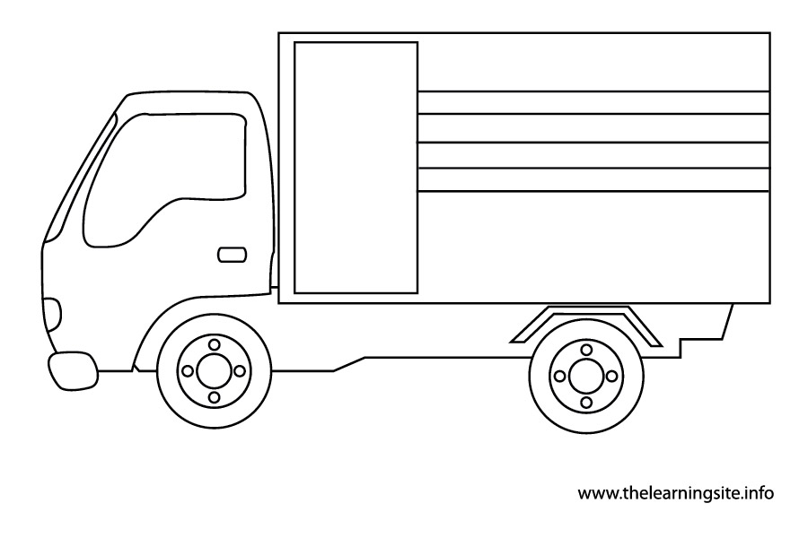 coloring-page-outline-transportation-truck-2