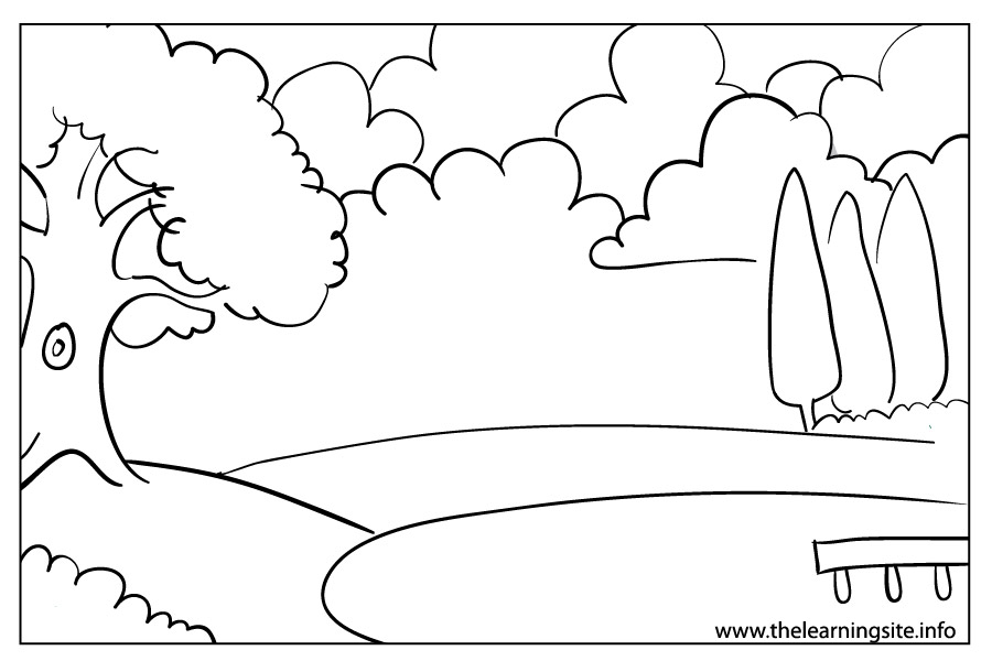coloring page outline weather season cloudy