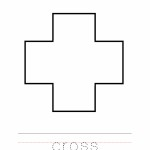 Cross Coloring Worksheet