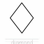 Diamond Coloring Worksheet