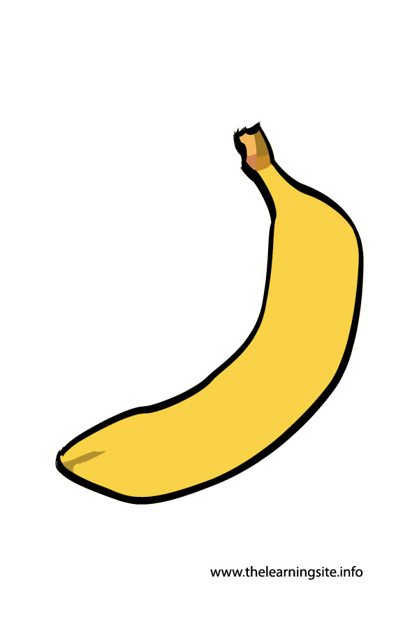 flashcard-banana
