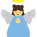 flashcard-christmas angel-01