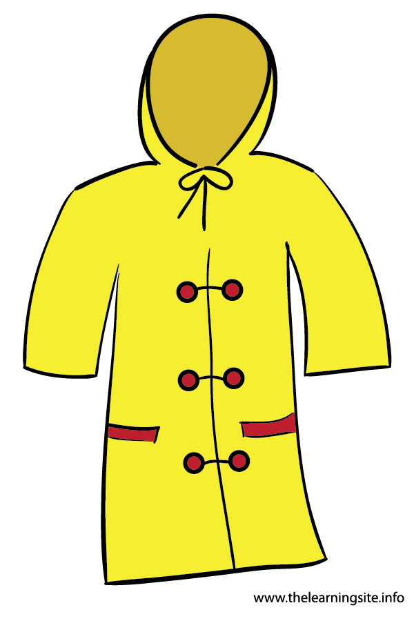 Rain Coat Clip Art The gallery for -->...