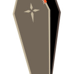 flashcard-coffin