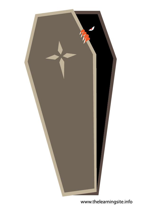 flashcard-coffin