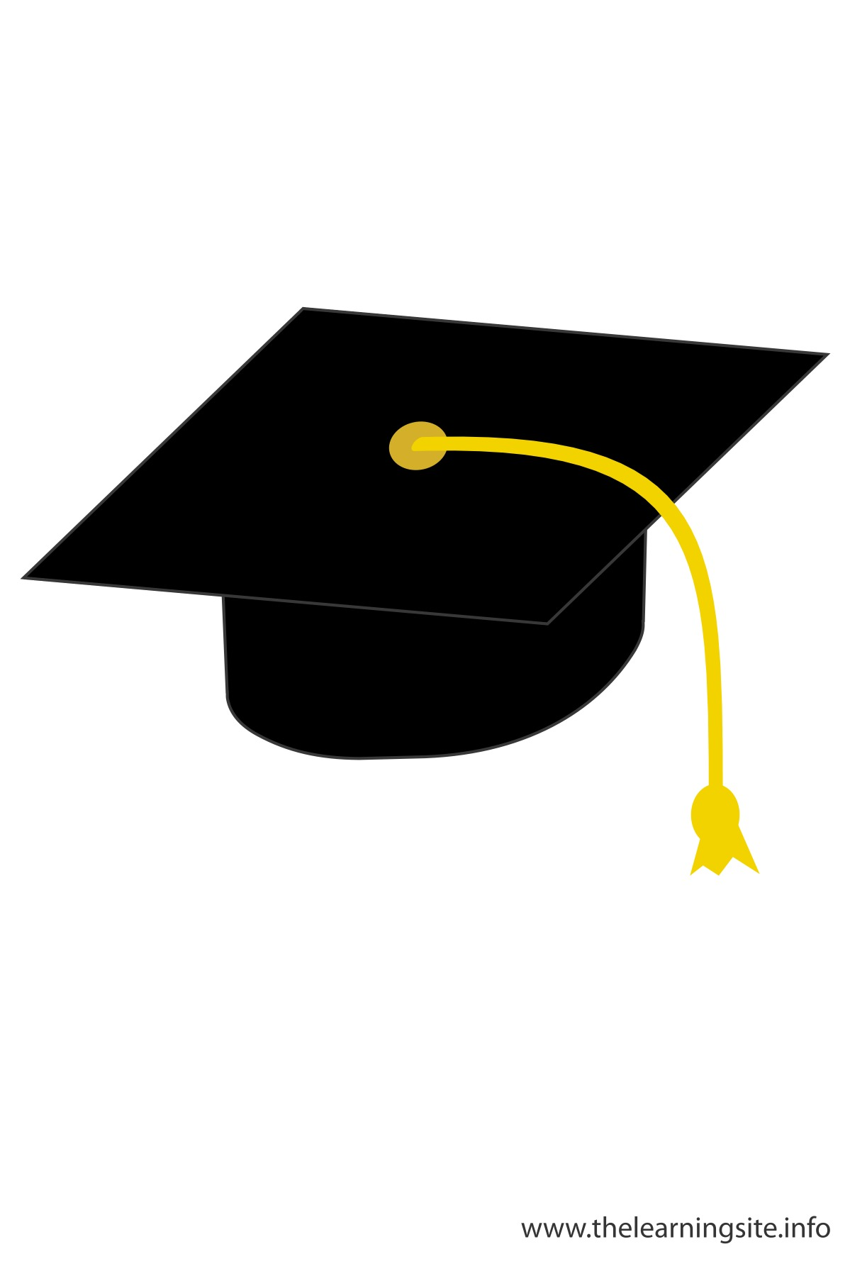 flashcard-graduation-cap-black