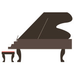 flashcard  musical instrument grand piano-01