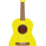 flashcard  musical instrument ukulele-01