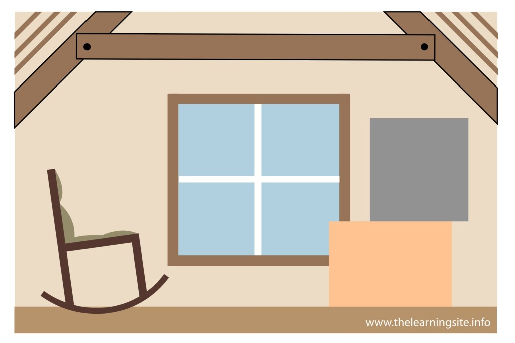 flashcard-parts-of-a-house-attic