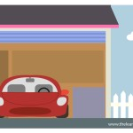 flashcard-parts-of-a-house-garage