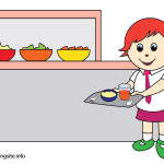 flashcard school subjects lunch-01