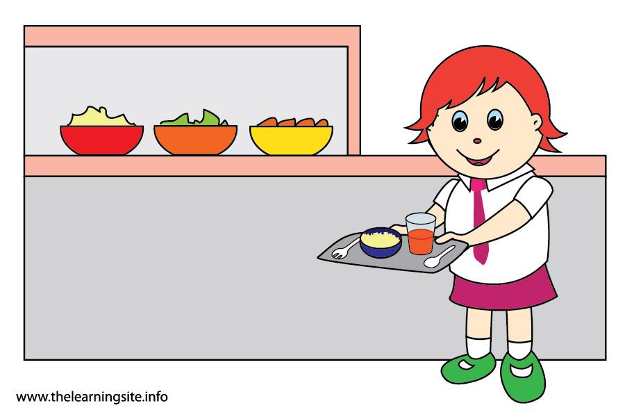 flashcard school subjects lunch-01