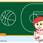 flashcard school subjects physical education-01