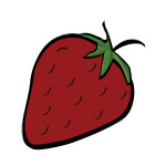 flashcard-strawberry