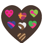 flashcard-valentinesday-chocolate-candy-hearts