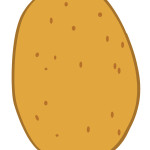 flashcard-vegetables potato