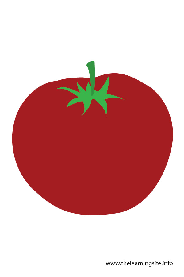 flashcard-vegetables tomato